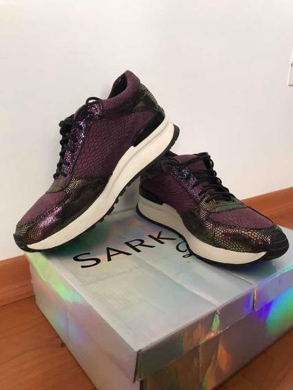 Zapatillas Sneaker Ricky Sarkany Deluxe 36