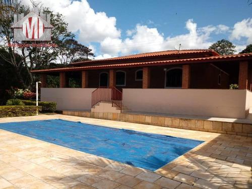 Chácara Com Escritura  04 Dormitórios À Venda, 2400 M² Por R$ 650.000 - Zona Rural - Pinhalzinho/sp - Ch0424