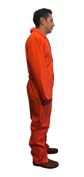 Disfraz Overol Naranja Para Aníbal Lecter, Recluso Halloween