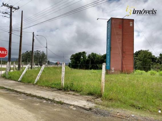 Terreno Comercial A Venda, Ideal Para Galpão, Industria, Frente Br 101, Porto Belo, Sc - Te0144