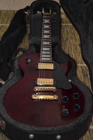 Gibson Lp Studio Wine Red Golden 2004 + Case ((. Raridade ))