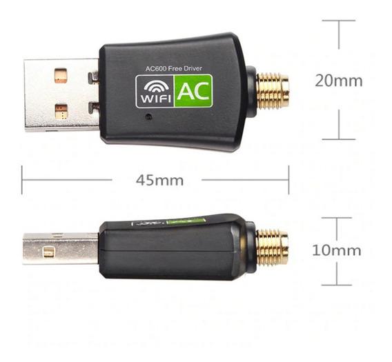 Adaptador 600 Antena Wifi Usb Mbps Wireless N Pc Notebook