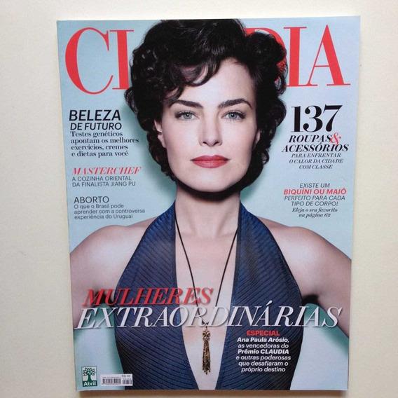 Revista Claudia Novembro De 2015 - Ana Paula Arósio
