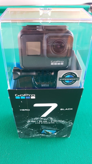 Câmera Digital E Filmadora Gopro Hero 7 Black 12mp Vídeo 4k