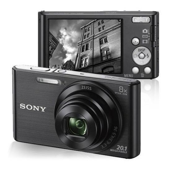 Camera Sony Dsc W830 Versão Brasil : 12x Sem Juros
