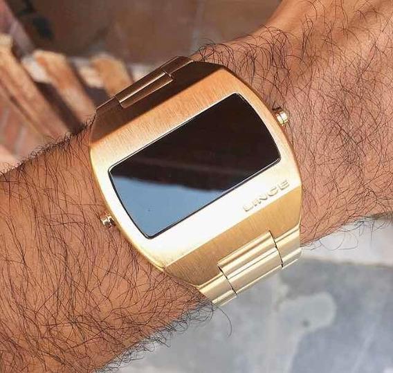 Relógio Lince Led Unissex Led Digital Mdg4620l Masculino