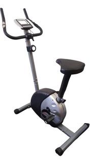 Bicicleta Fija Magnética 100 K Display Con Sensor De Pulso