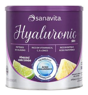 Hyaluronic Ácido Hialurônico Skin Sanavita Abacaxi Com 270g