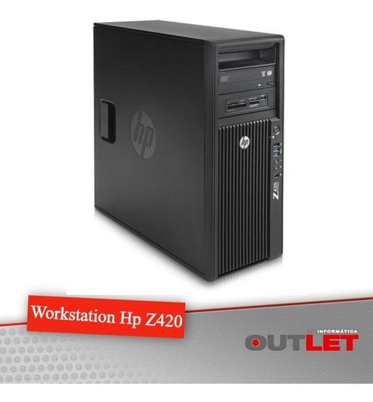 Workstation Hp Z420 Xeon E5-1620 V2 8gb 500gb Quadro K600