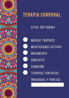 Tantra/descuentos Masajes Terapeuticos Y Energeticos