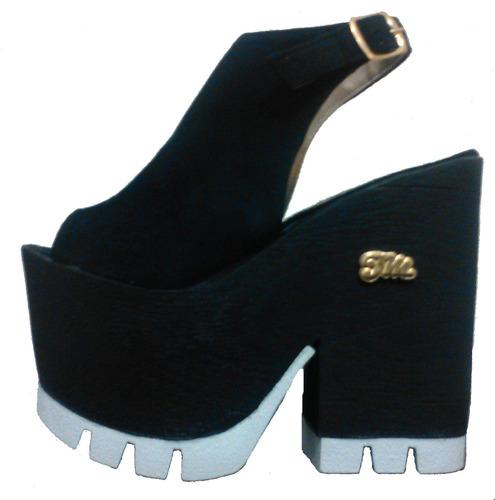 e1d782f211 Zapatos Sandalias Plataforma Verano 2016 Mariposa - $ 500,00 en Mercado  Libre