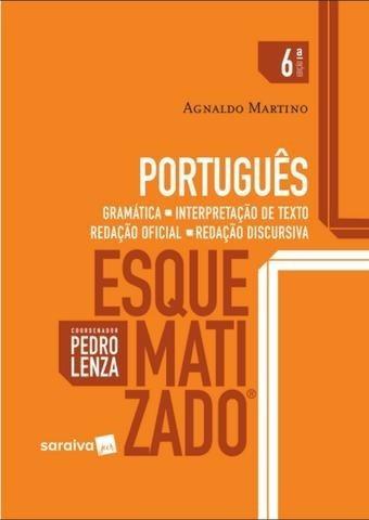 Livro: Edição Antiga - Português Esquematizado - Gramática..