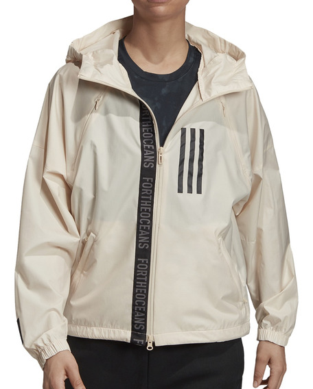 Campera Rompeviento adidas Training W W.n.d. Mujer Ar/ng