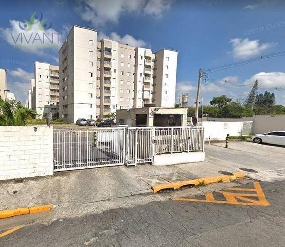 Apartamento Com 3 Dormitórios Para Alugar Por R$ 1.200/mês - Parque Suzano - Suzano/sp - Ap0293
