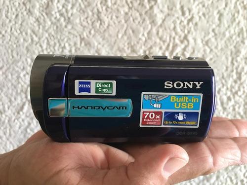 Cámara De Vídeo Filmadora Handycam Sony Modelo Dcr-sx45