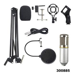 Microfono Condensador Profesional Bm800 + Soporte Filtro W01