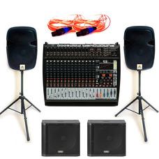 Alquiler De Sonido - Luces - Proyector - Ecran