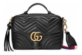 Bolsa Gucci Marmont Gg Metelasse - Importada 100% Autêntica