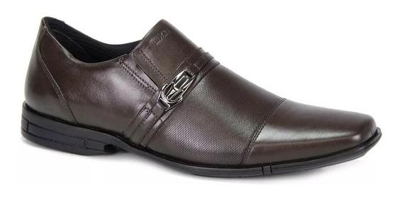 Sapato Masculino Ferracini Casual Bristol 3706-220h Cafe