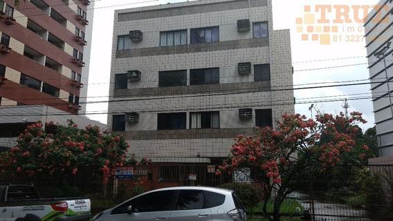 Studio Flat Casa Forte, 35m2, Mobiliado, Garagem, Próximo A Praça Casa Forte. - Ap1429