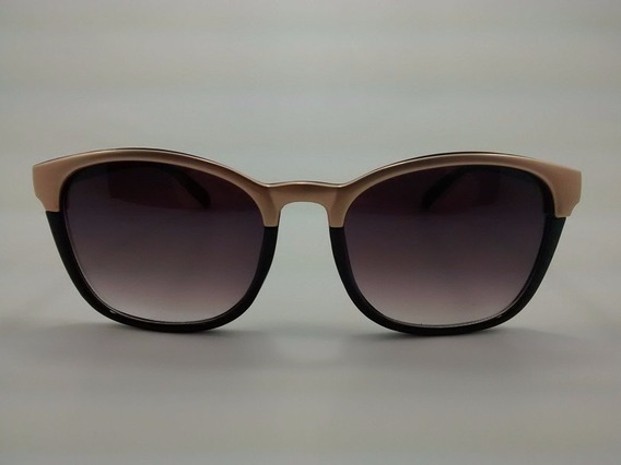 Óculos De Sol Otto - Preto E Dourado - Om5027