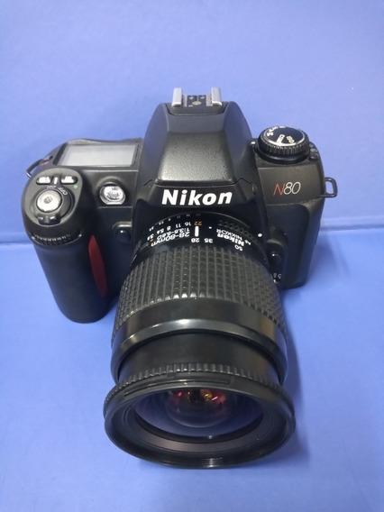 Câmera Fotográfica Analógica Nikon N80