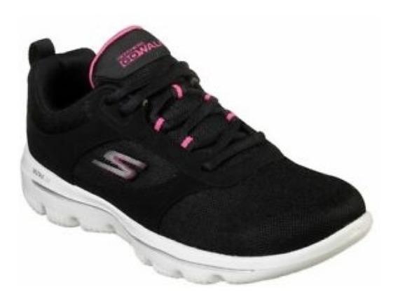 Tênis Skechers Feminino Caminhada Corrida Passeio Original