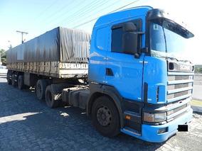 Conjunto Scania 124 360 6x2 Vanderléia 2013