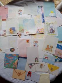 Papel De Carta 31 E 13 Envelopes Variados
