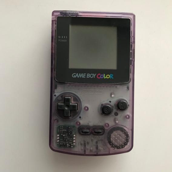 Game Boy Color Roxo Translúcido