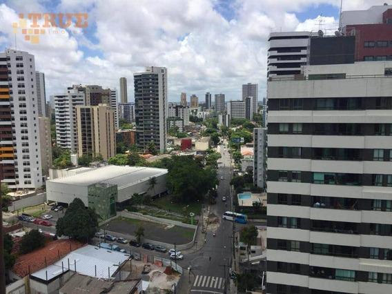 Apartamento Com 1 Dormitório À Venda, 33 M² Por R$ 210.000 - Tamarineira - Recife/pe Contato Com Eleonora Cardoso 9.9237-9240 Whatsapp - Ap3020
