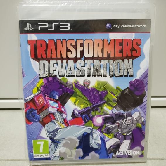 Transformers Devastation - Ps3 - Versão Pal - S/ Juros