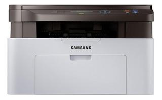Impresora multifunción Samsung Xpress SL-M2070 220V blanca y negra