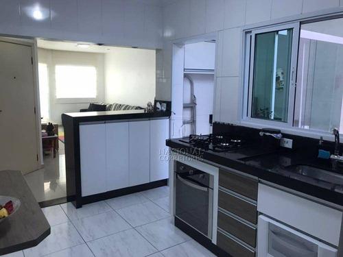 Imagem 1 de 30 de Apartamento Com 3 Dormitórios À Venda, 87 M² Por R$ 435.000,00 - Utinga - Santo André/sp - Ap6429