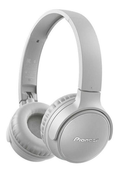 Fone De Ouvido Pioneer On Ear S3 Wireless Se-s3bt-h Cinza