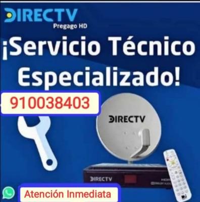 Instalación Directv Pre-pago Servicio Técnico Lim 910038403