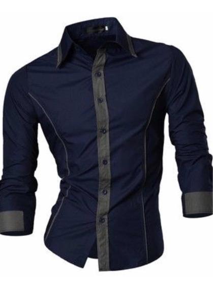 Camisas De Caballero Slim Fit