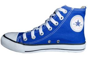 34cab34ac4e All Star Cano Alto Azul - Converse Casuais no Mercado Livre Brasil
