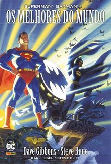 Hq - Superman & Batman. Os Melhores Do Mundo - Capa Dura
