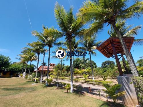 Imagem 1 de 30 de Maravilhosa Chácara Com Área Gourmet E Um Lindo Jardim Zona Rural De Guarapari-es - Ch00017 - 69179237