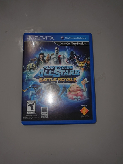 Playstation All-stars Battle Royale - Ps Vita - Mídia Física