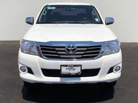 Toyota Hilux Doble Cab Mid A/ac Ve Mt Ra-15 Blanco 2015