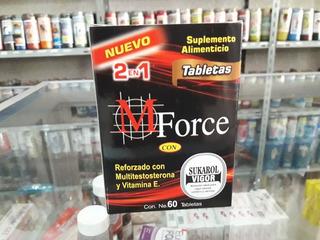 Mforce Suplemento Alimenticio 60 Tabletas Envio Gratis
