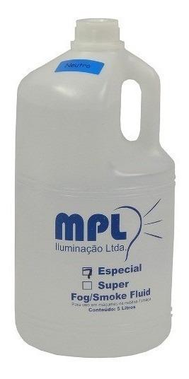 Liquido Fluido Mpl Galao 5 Litros Para Maquina De Fumaça