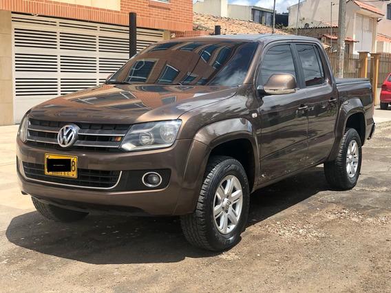 Volkswagen Amarok Highline Segundo Dueño La Mas Full De Acce