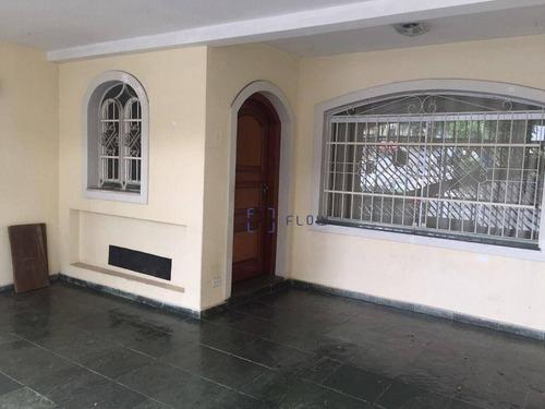 Imagem 1 de 12 de Excelente Sobrado 270m² - 4 Dormitórios (2 Suítes) - 2 Vagas - Vila Clementino - So1688