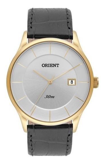 Relógio Orient Masculino Puls.couro - 34874