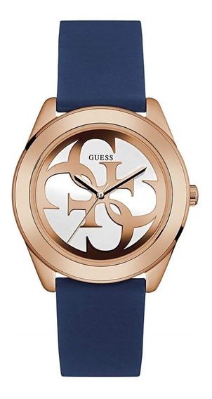 Reloj Guess Para Mujer Modelo U0911l6 Correa Silicona Nuevo