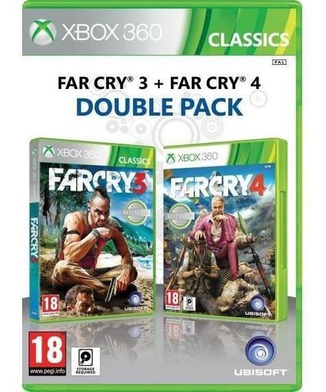 Far Cry 3 E Far Cry 4 Double Pack Xbox 360 Em Midia Fisica