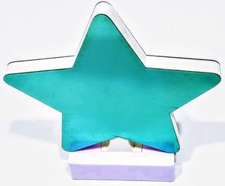 Lampara 3 D Led Estrella Efecto Espejo Usb Pacho